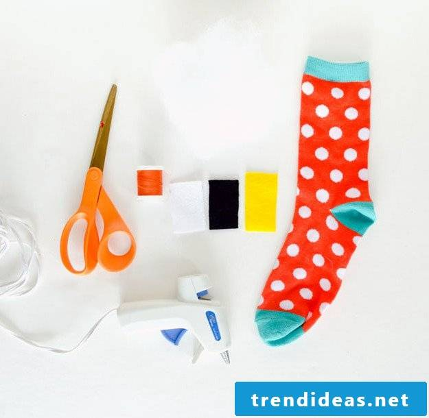 Make Octopus plush toy out of socks