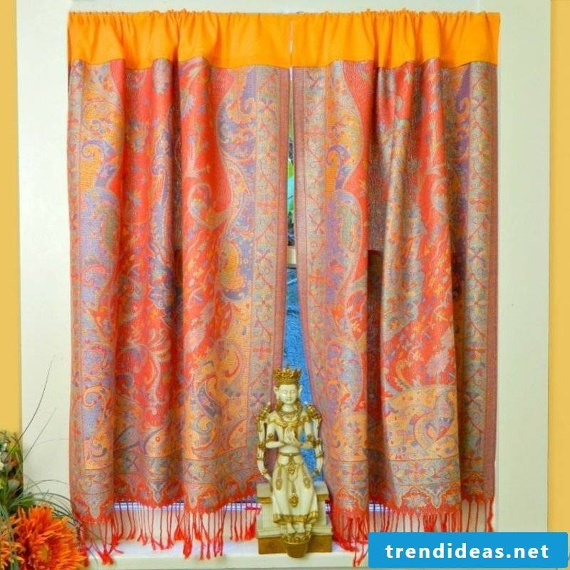 Curtains Indian style