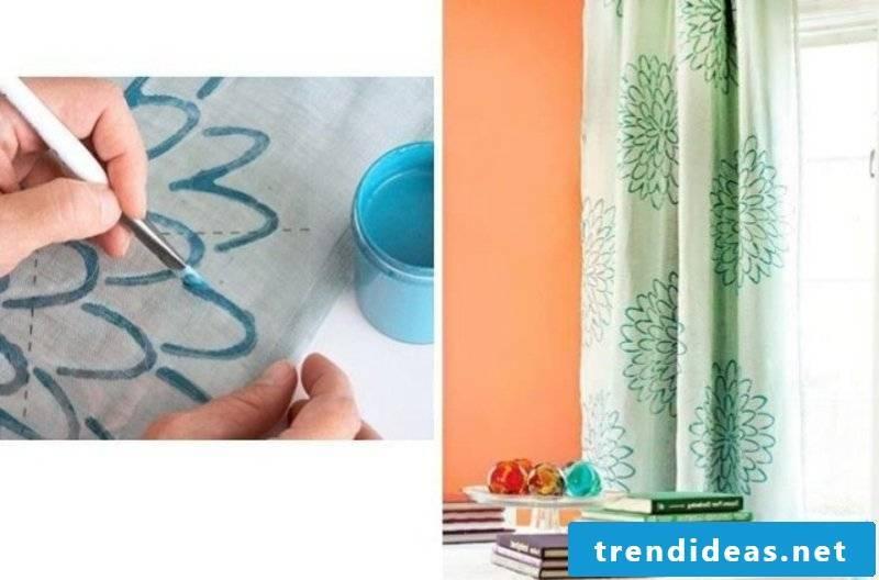 Curtains sew decorating templates