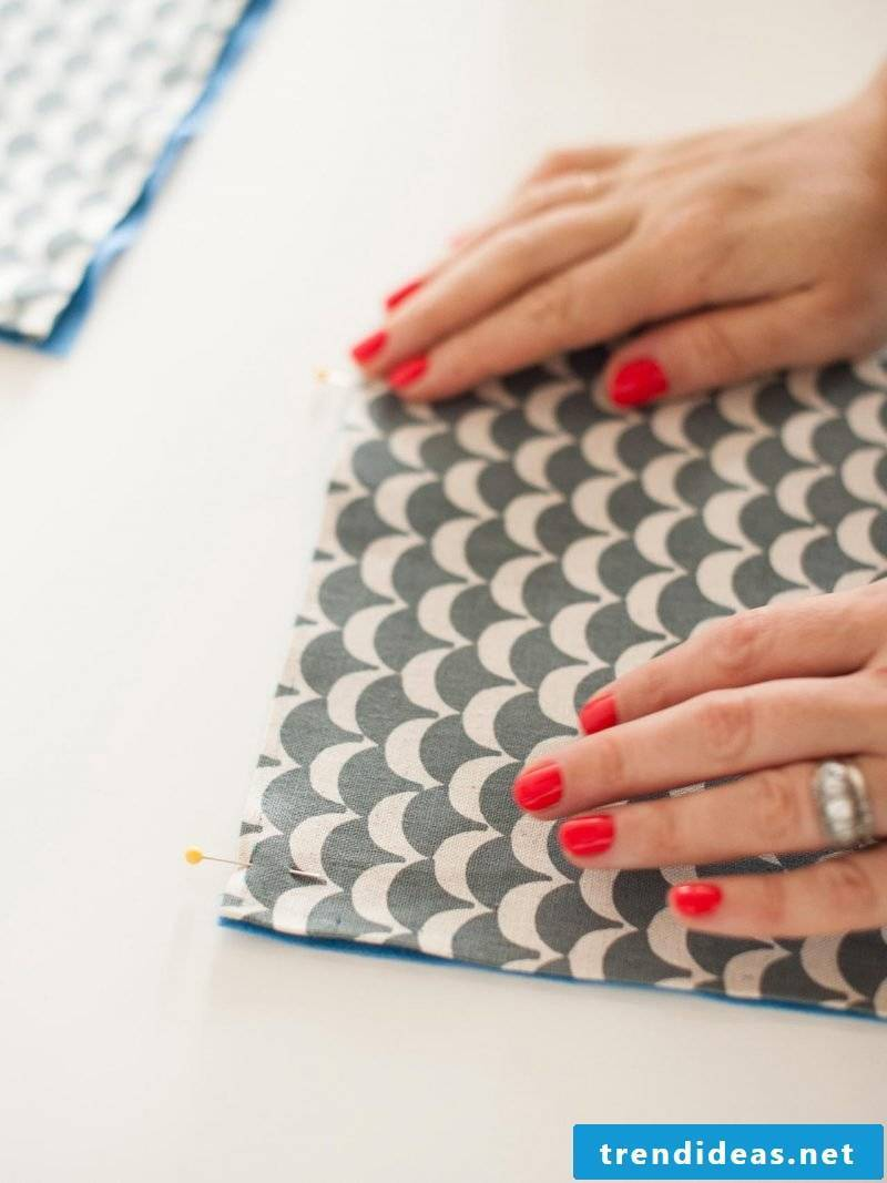 Sewing phone case instructions