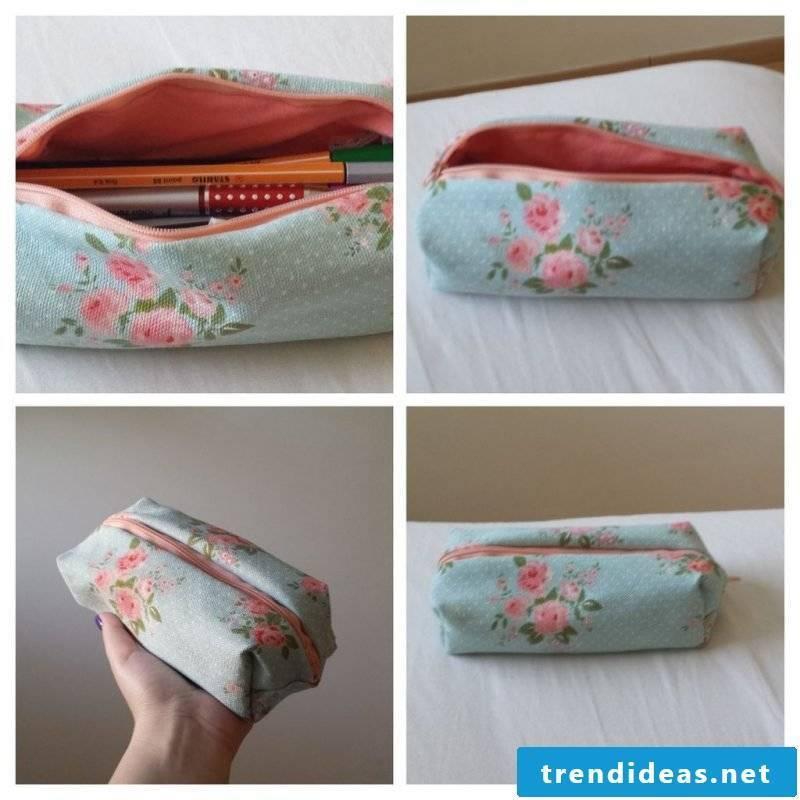 Make pencil case yourself