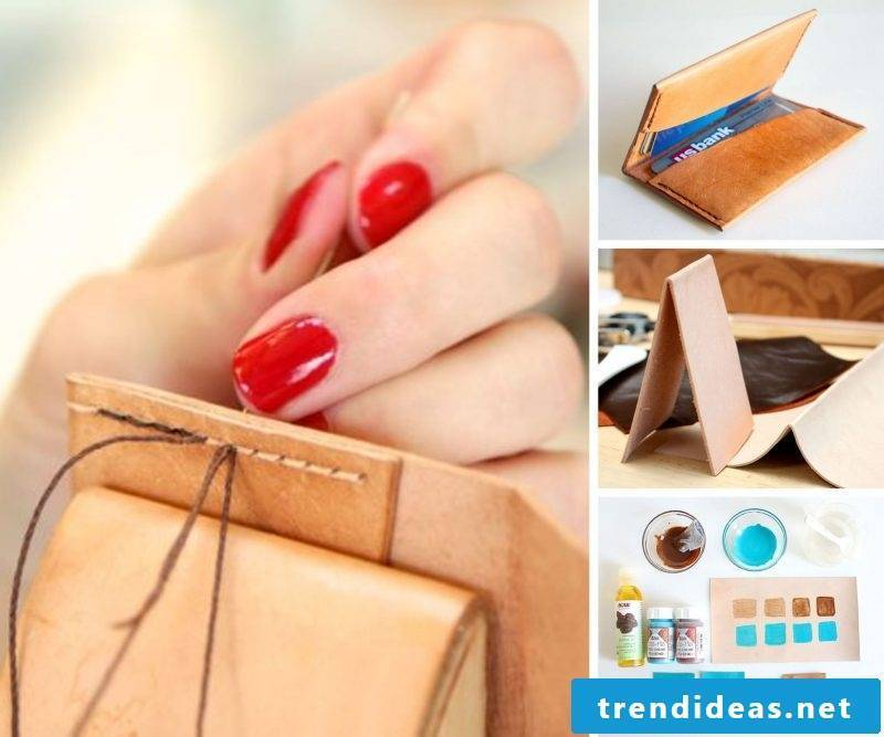 Sewing for beginners - make leather bag yourself