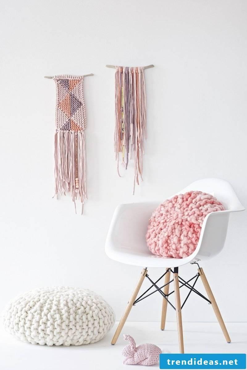 Beanbag itself make Crochet
