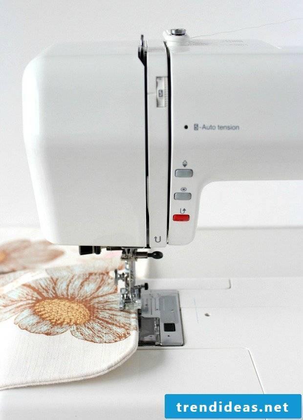 DIY sewing garden apron