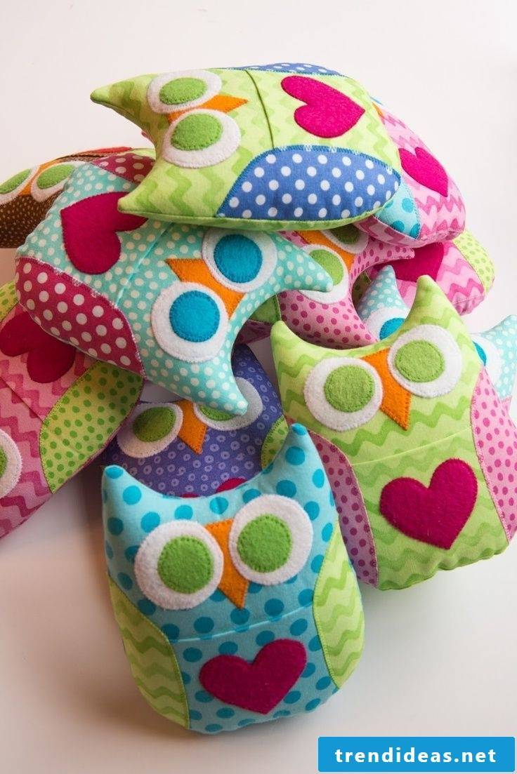 funny owl pillow creative deco idea for all-rounders