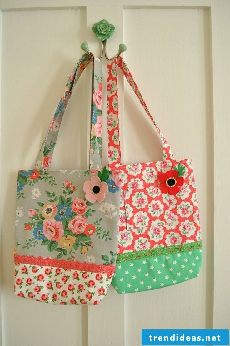 kreaitve cloth bags for modern women