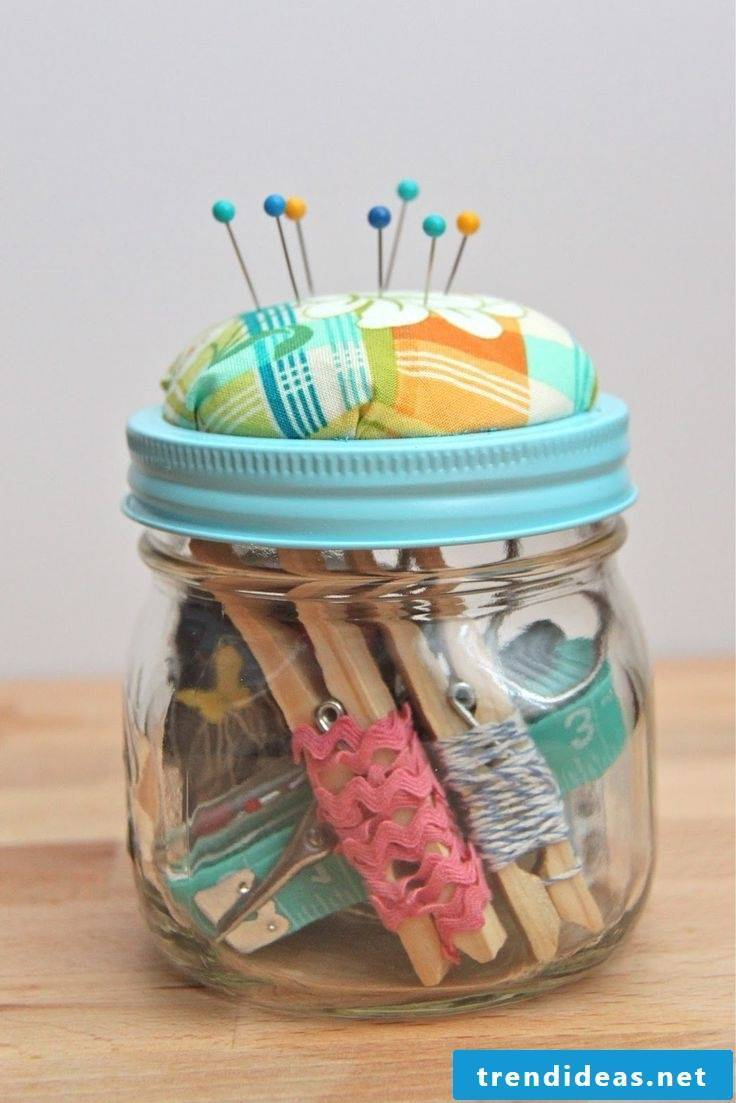 Fresh idea for storage of sewing kit