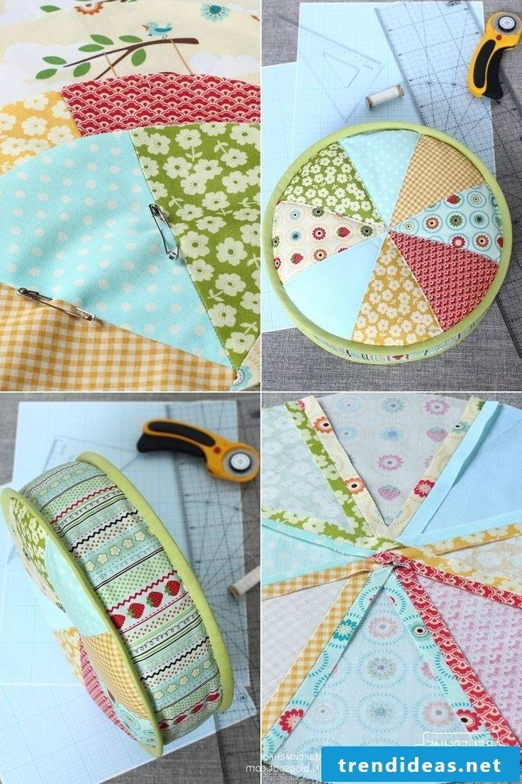 Sew seat cushions yourself