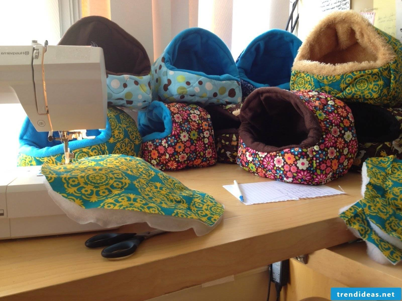 Sewing ideas for pet basket