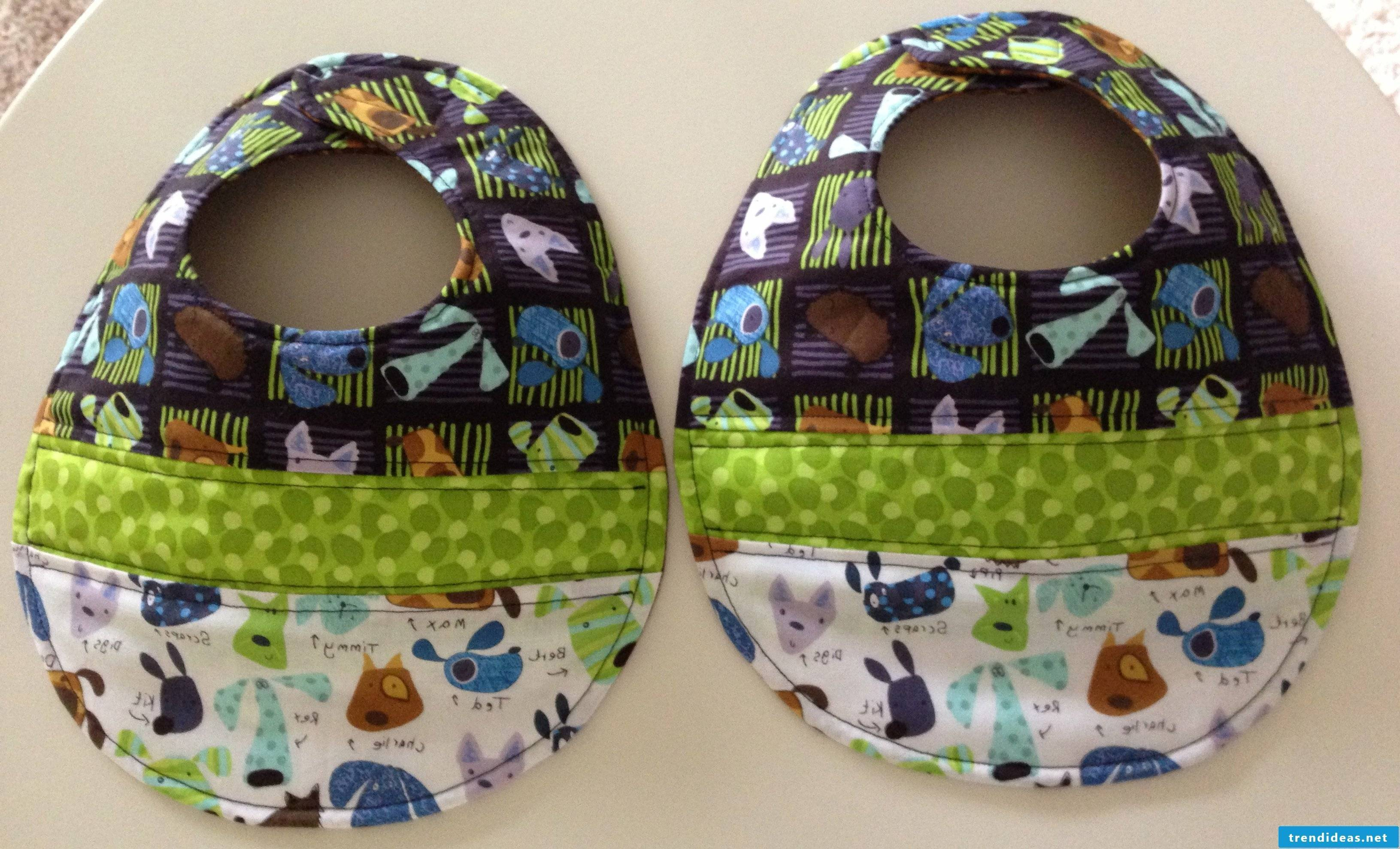 Bib or hat to sew yourself