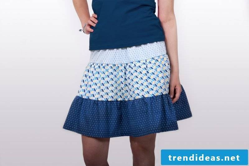Sewing DIY ideas wrap skirt