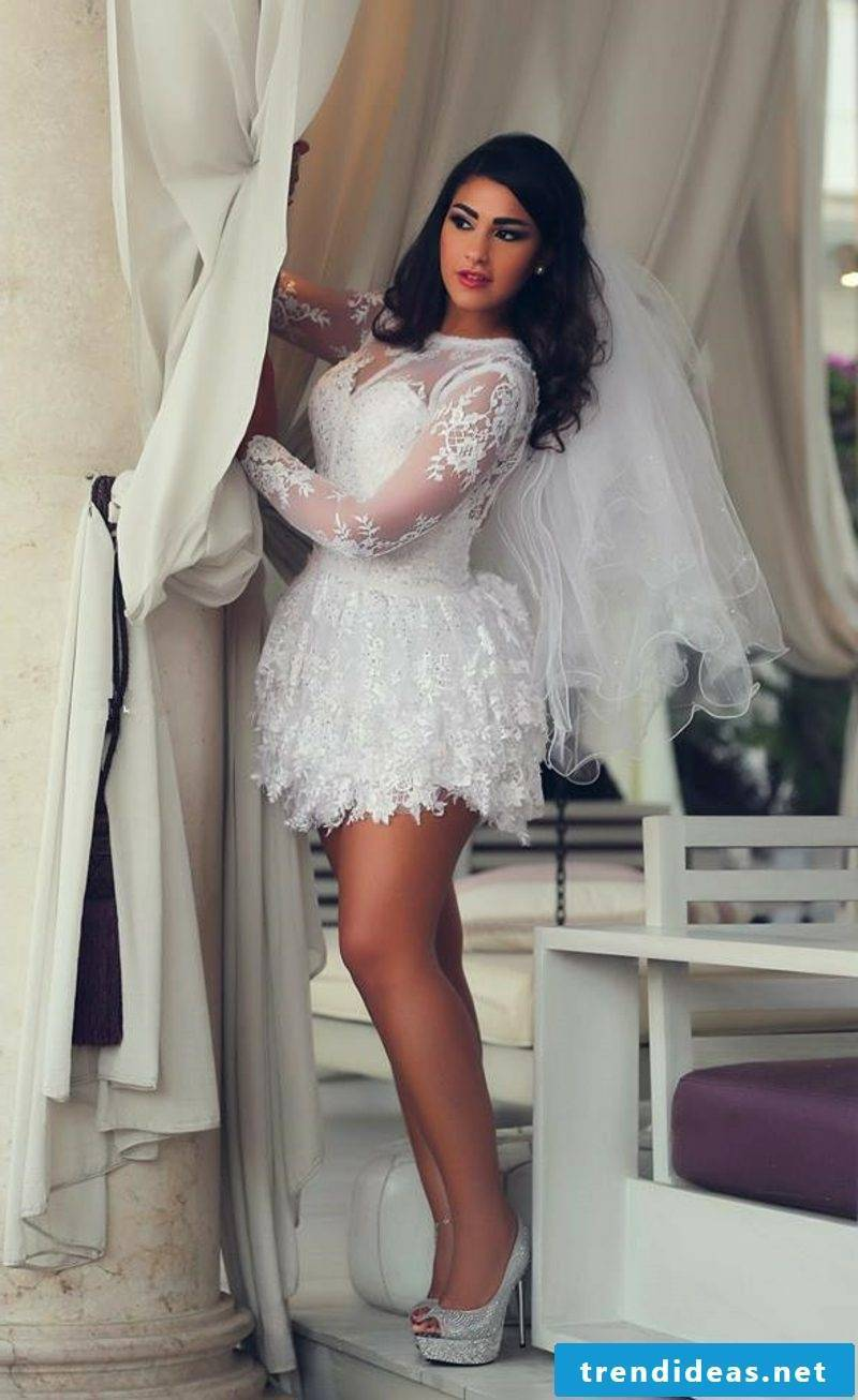 sexy wedding dress sex short