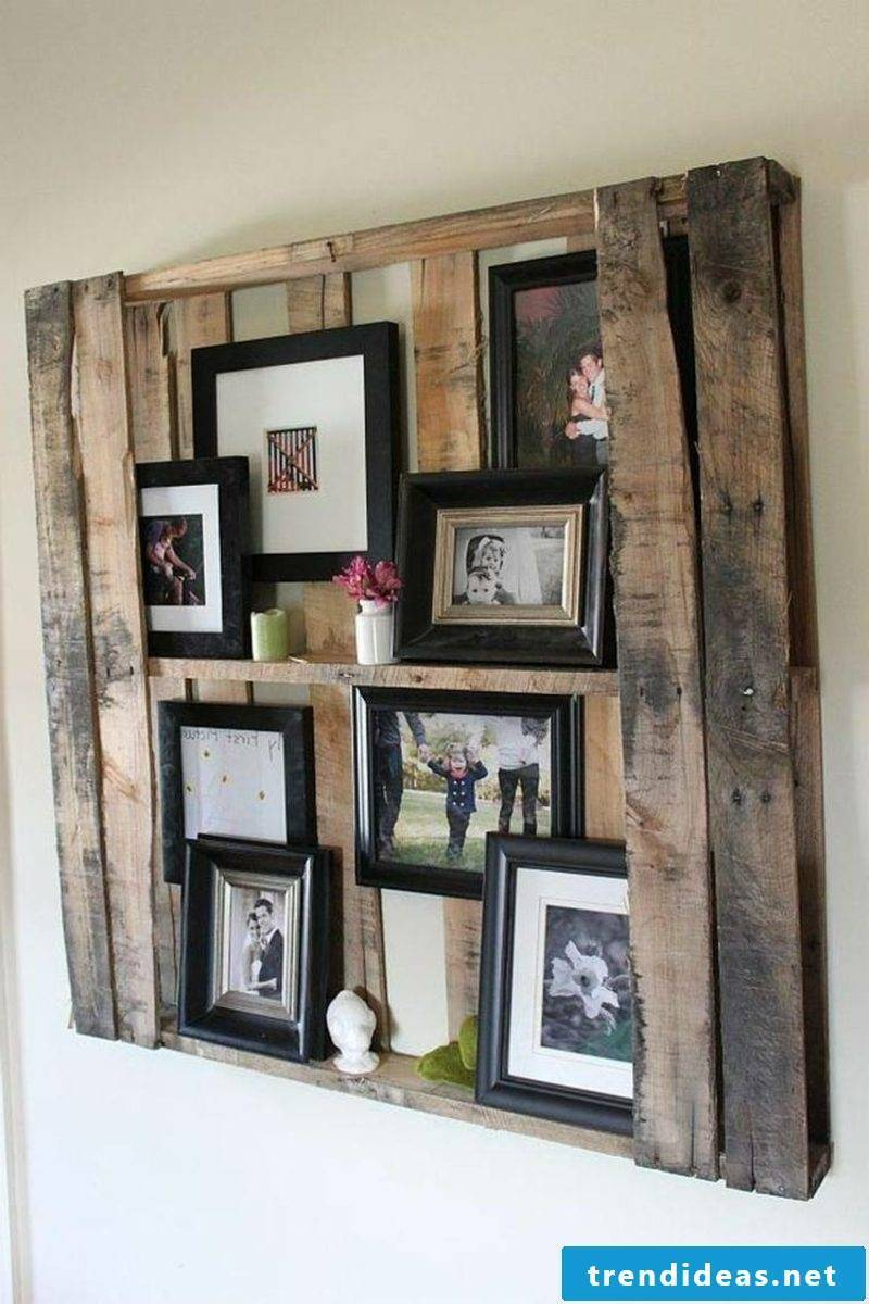 build bookshelf out of pallets
