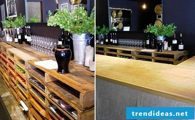 kitchen shelf made of europallets what can you build from pallets