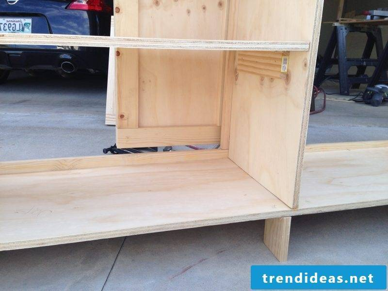 Sideboard build yourself: Instructions Step 5