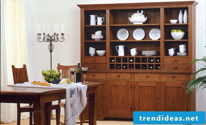 Sideboard build yourself: large buffet for dining room