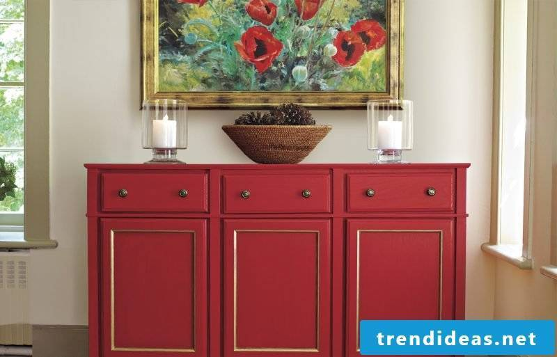 Sideboard is perfect for hallway