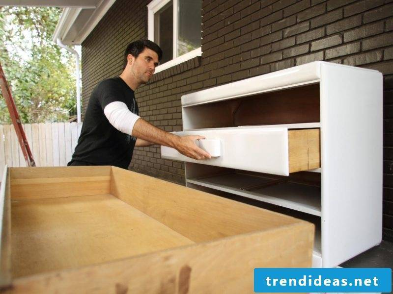 Build a purchased sideboard yourself