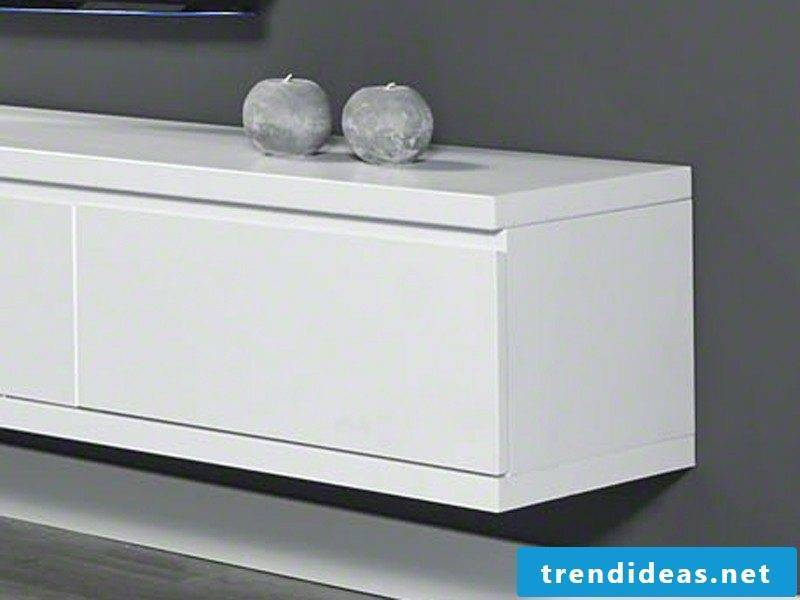 Sideboard hanging white attractive look