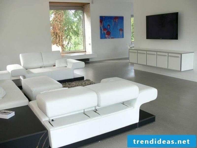 Sideboard hanging living room