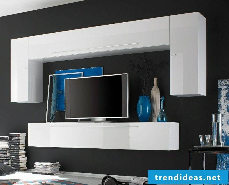 Sideboard hanging modern design