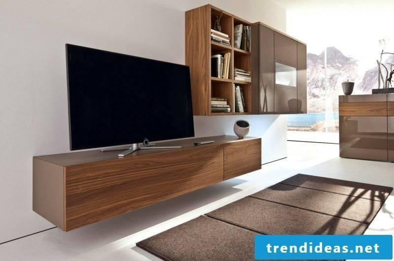 Sideboard hanging wood