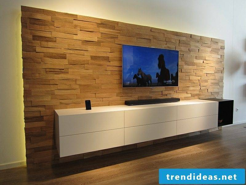 Sideboard hanging part of the modern decor
