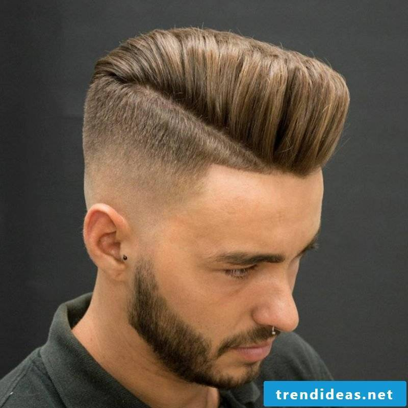 Prom hairstyles man sidecut