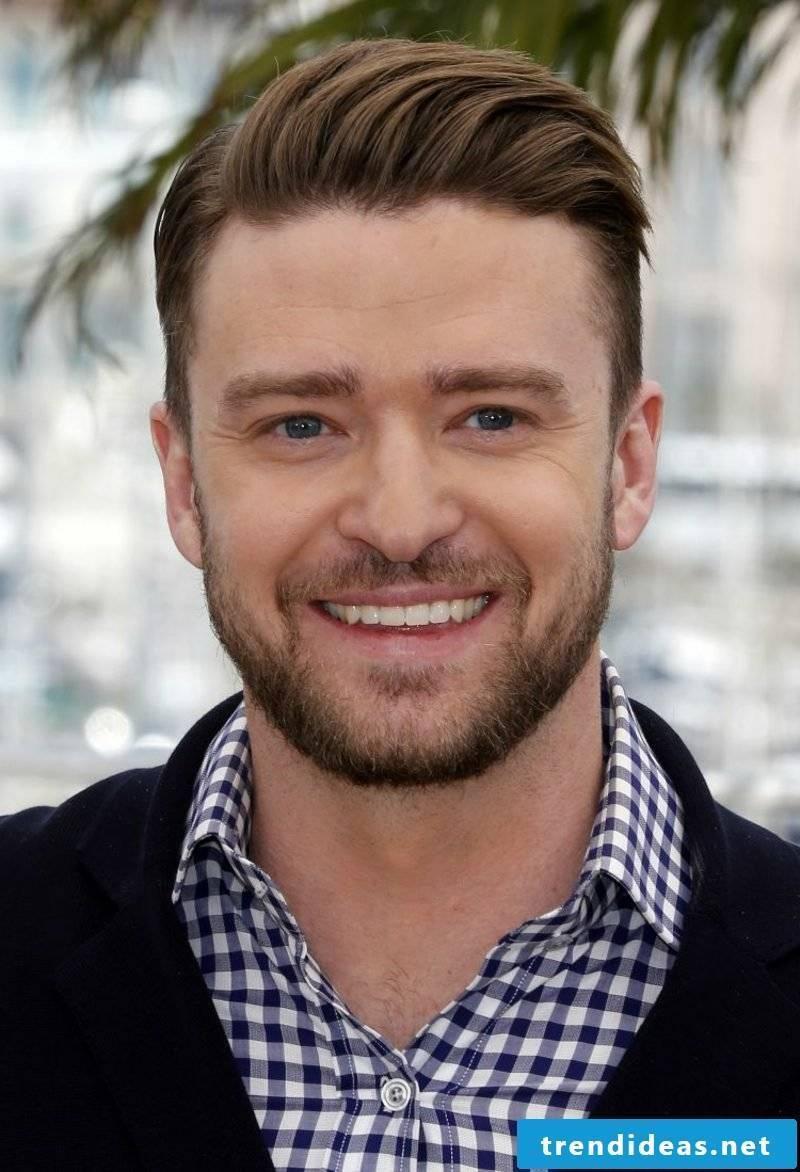 Rockabilly Hairstyle Man Undercut Justin Timberlake