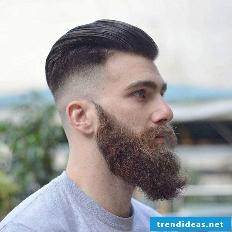 medium length hair hairstyles men sidecut