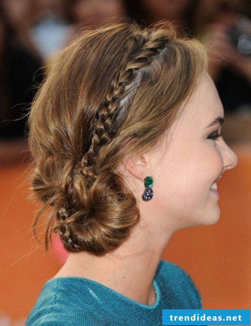 Updos themselves make tutorials and inspiring ideas