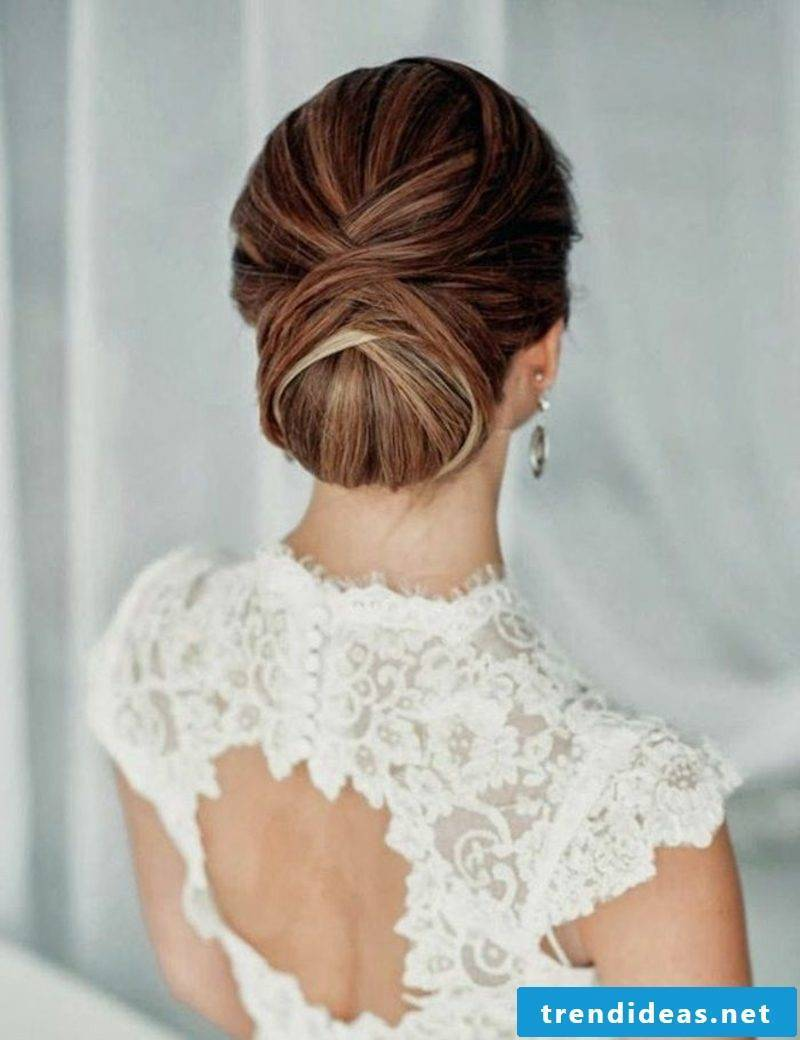 Confirmation hairstyles elegant Chignon