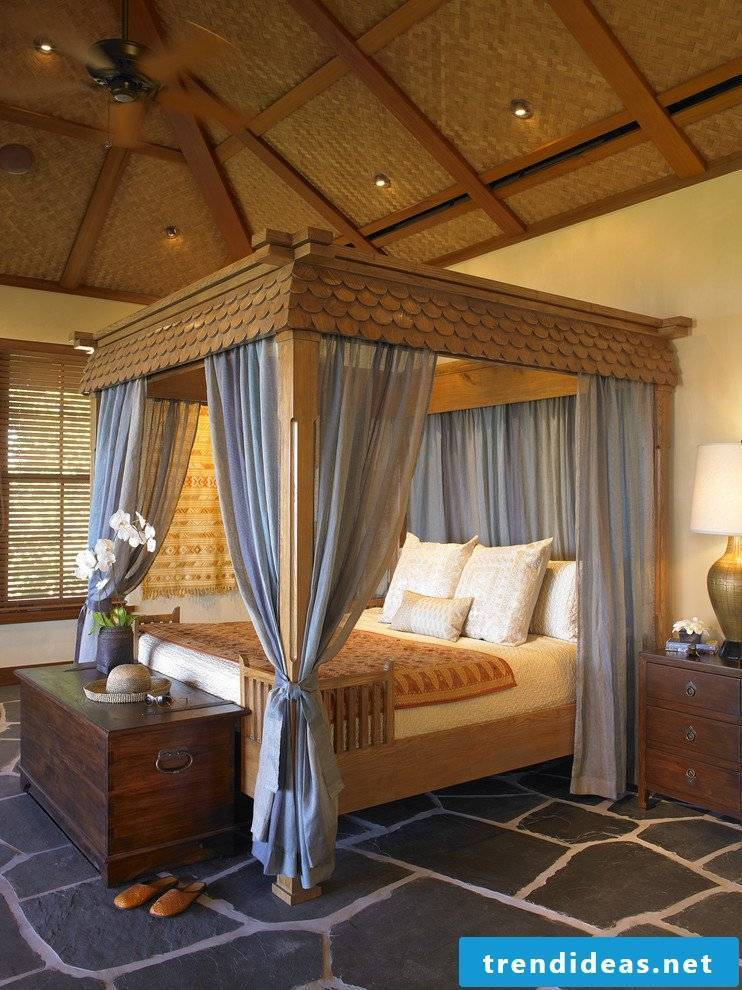 Four-poster bed - tips for buying a bed