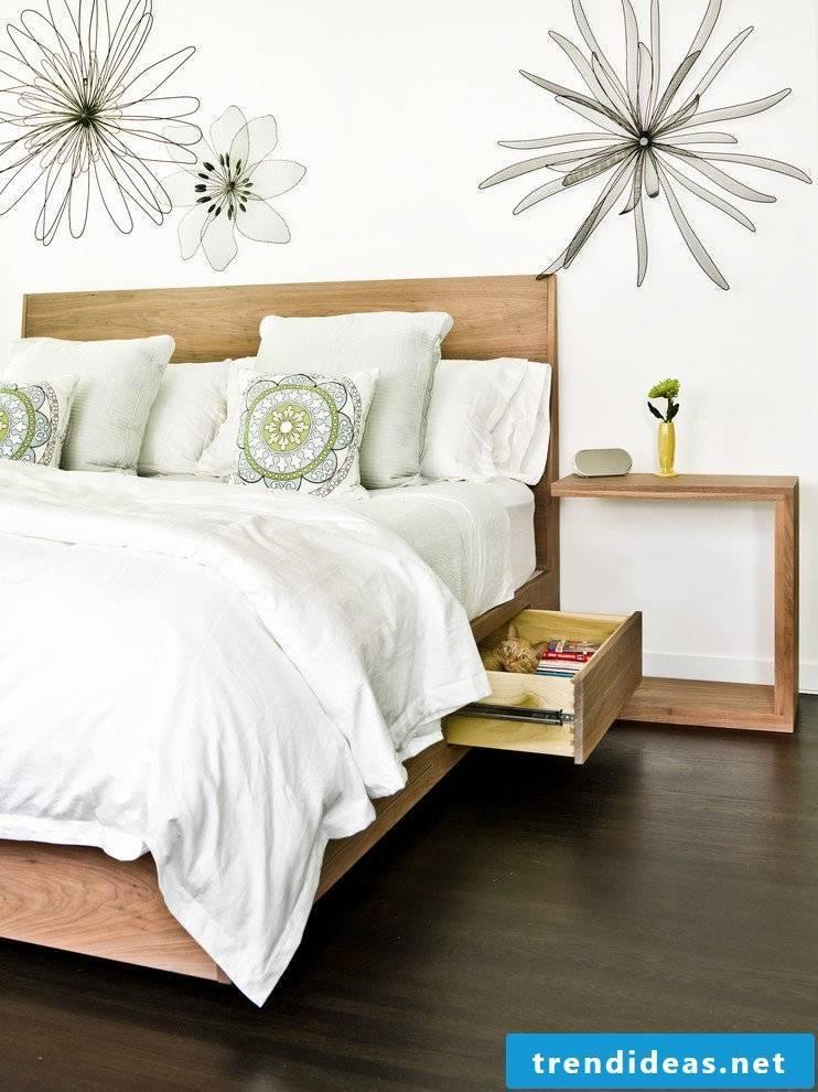 Staurambett - more storage in the bedroom