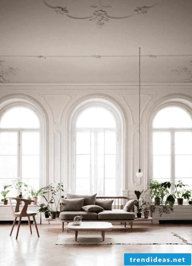 minimalism living room set up ideas sofa table