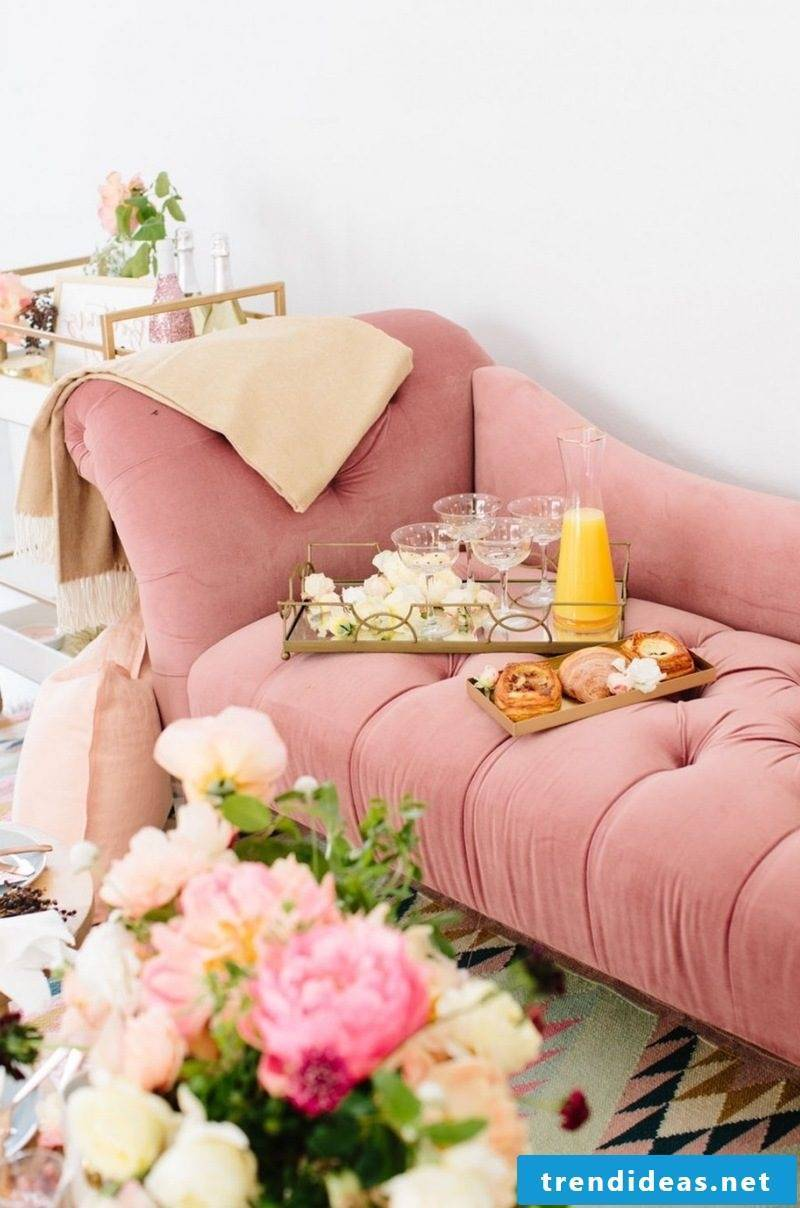 furnishing ideas living room design flexible furniture sofa pink