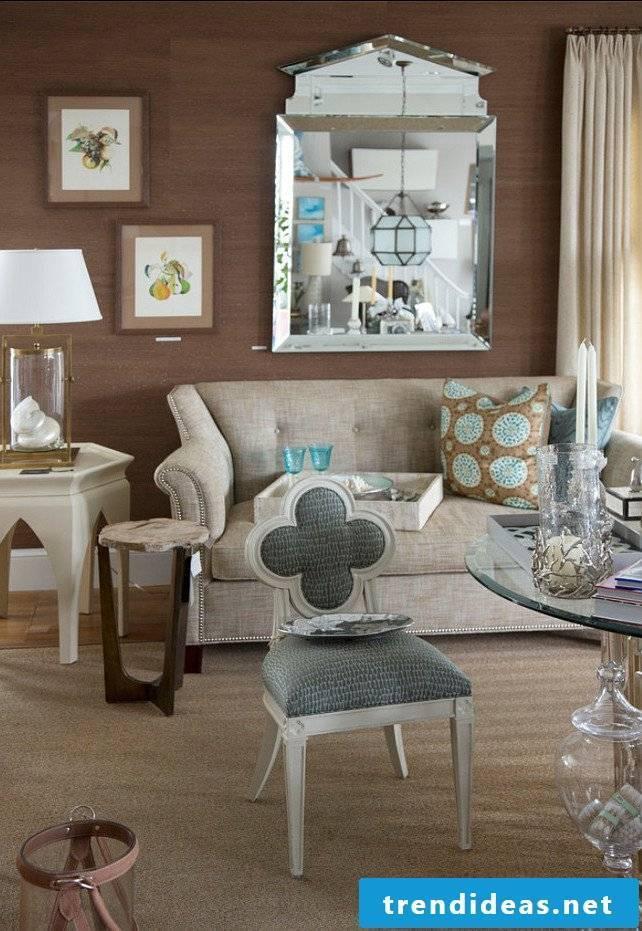 living room ideas ideas wall design sofa chair table glass