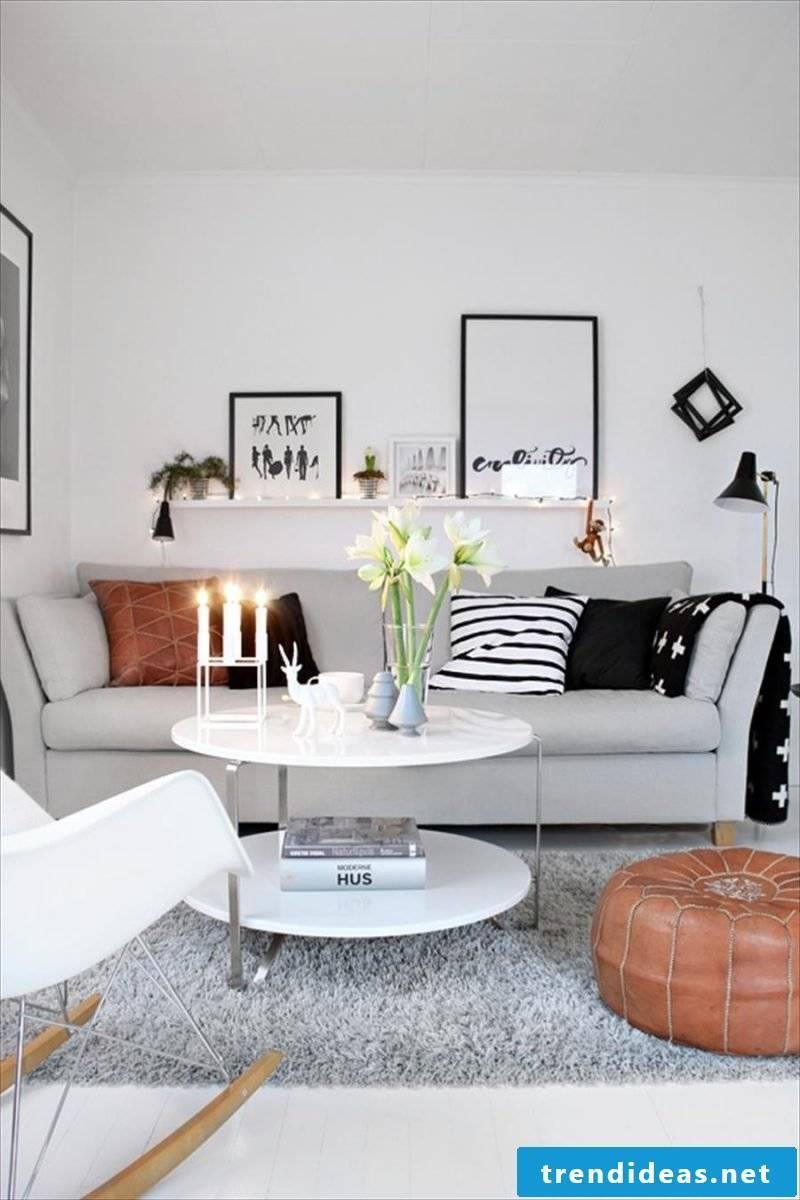 Bright colors living room design ideas
