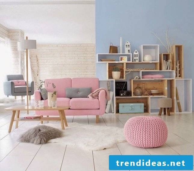 small living room set up ideas furniture pink colors