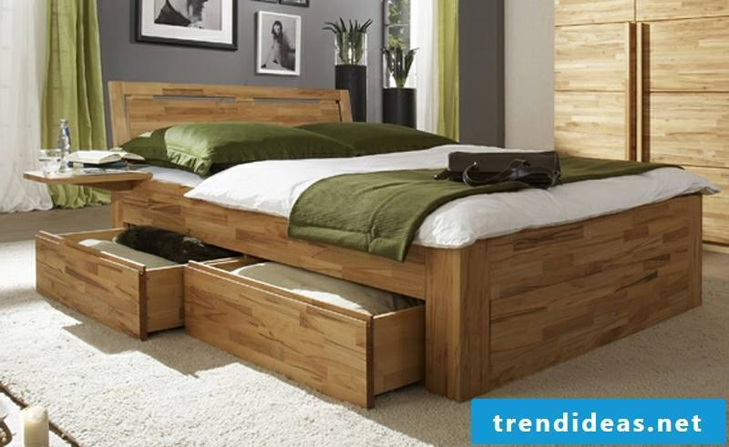 massive double bed