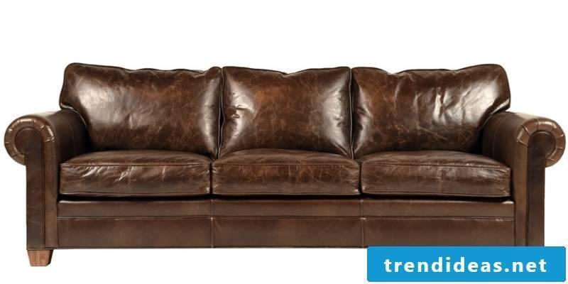 Sofa in brown