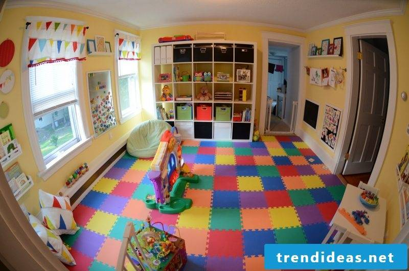 Nursery carpet for the whole room