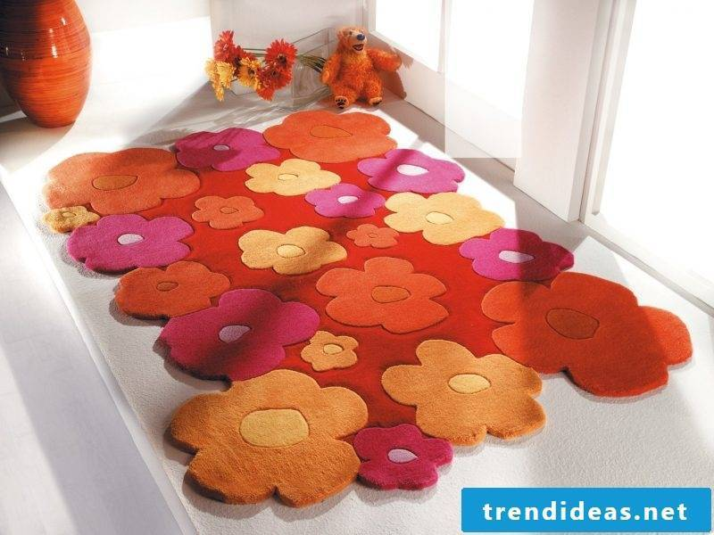 Bring personal touch with a nursery carpet from different parts