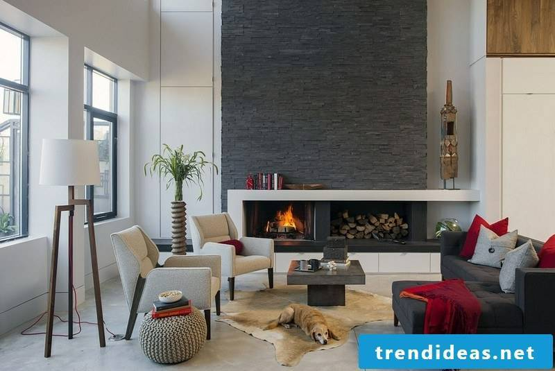 Stone look for wall cladding