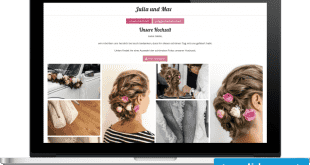 Stress-free prepared: With WeddyBird to your own wedding homepage