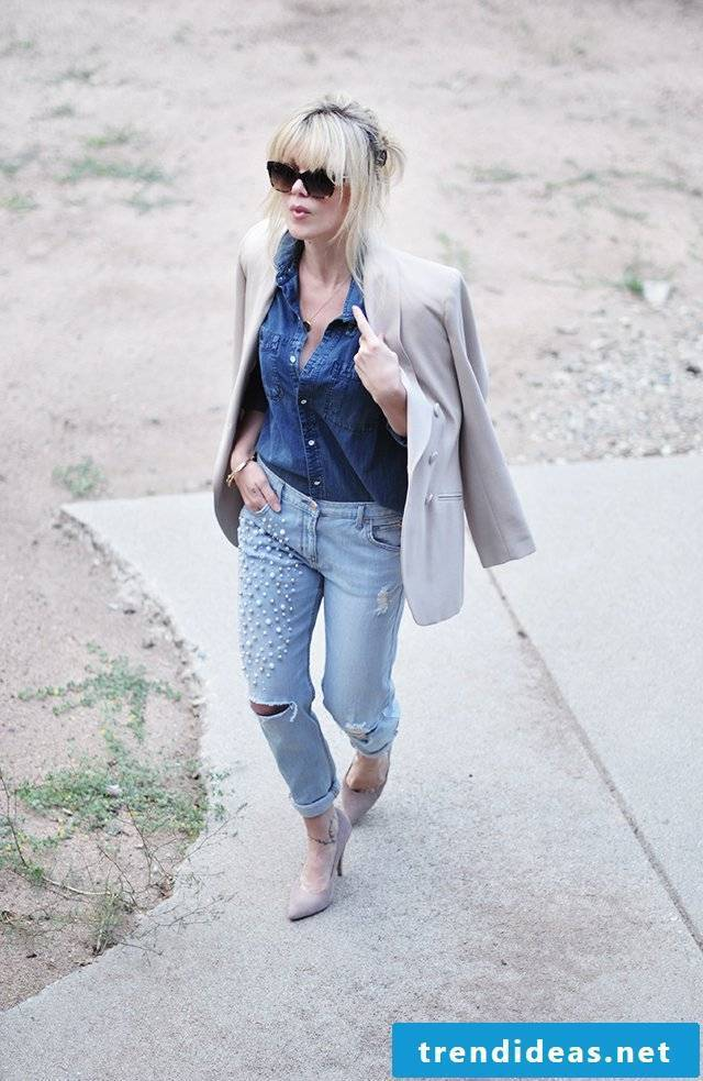 Bought or homemade - Learn how to give your old cotton summer pants a new look