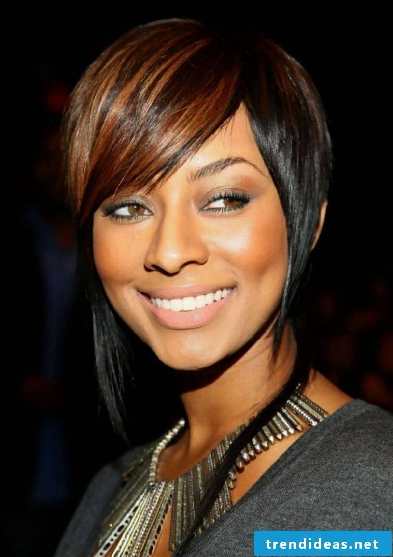 Undercut back of the head modern women's hairstyles