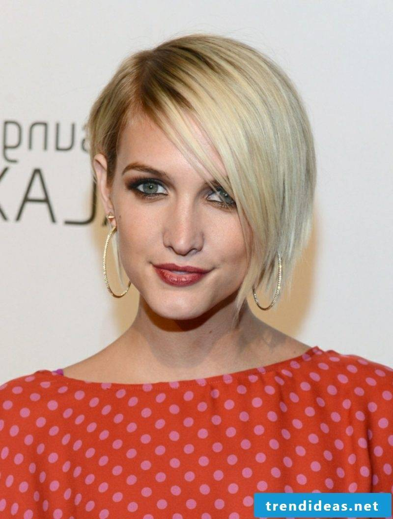 Sidecut women and other modern hairstyles for short hair