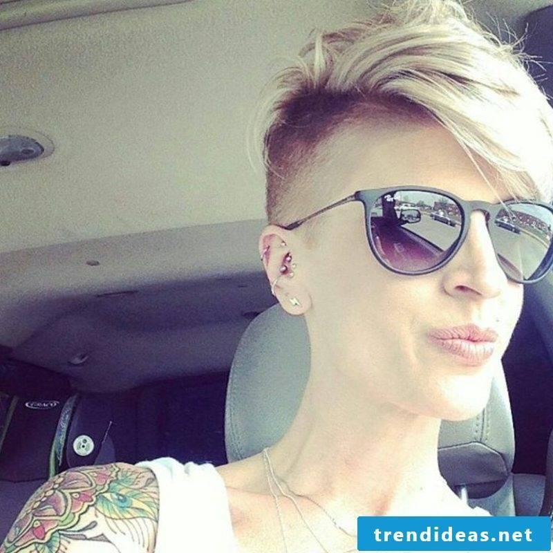 cheeky short hairstyles for eyewear wearers