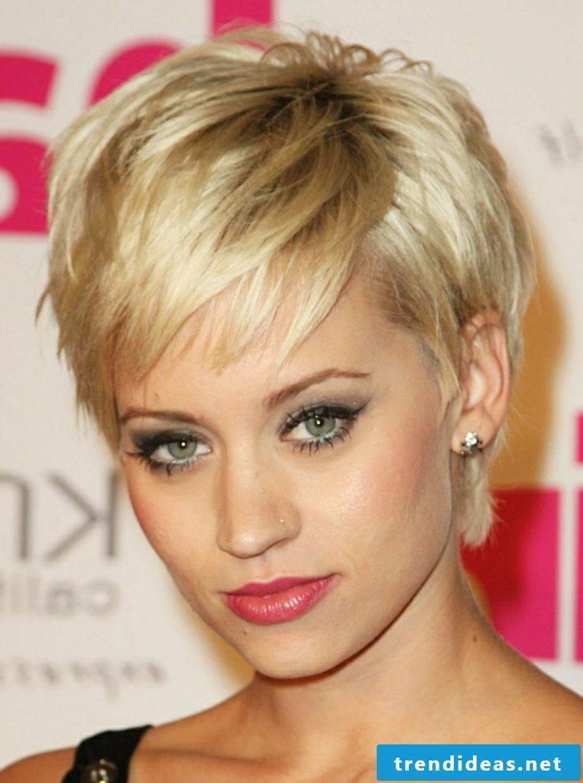 naughty short hairstyles undercut